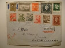Lof of 3.Netherlands Indies 1949.Indonesia 1950,1951 to Canada.