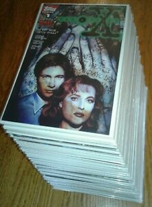 """""""X-Files"""" complete 1st print Topps issue series w/ variants, 1-shots & specials"""