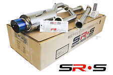 SR*S CATBACK EXHAUST SYSTEM FOR 02-06 MITSUBISHI LANCER OZ ES LS BURNT BLUE TIP