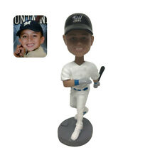 Personalized 7 inches MLB Baseball Bobble Head Sports Action Figure