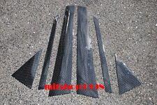 AUDI A4 B6 B7 S4 4D Carbon Fiber Pillar Panel Covers