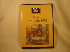 1957 1958 1959 FORD Classic Car DVD Video Collection Films