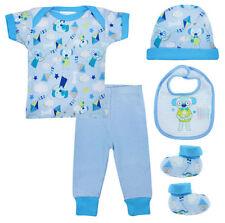 Ensembles bleu pour garçon de 0 à 24 mois en 100% coton