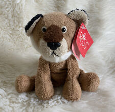 Russ Luv Pets Avonna Plush Lion Tiger Brown Beanbag Stuffed Animal Mini