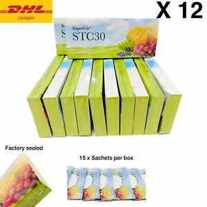 12 Boxes Superlife STC30 Supplement Stemcell activator vitamins DHL Express