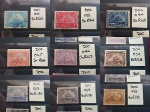 USA 1898 Documentary Revenue Stamps (Battleship) Choose from 75 stamps