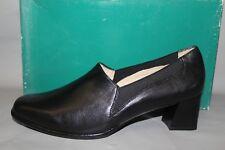 NEW Women's Ros Hommerson Blossom Size 9.5 Medium Black Leather Dress Shoe