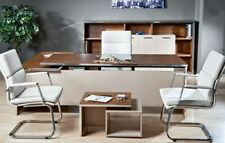 Büromöbel-Set, Büro komplett Set, Bürotisch, Büroschrank, preiswert