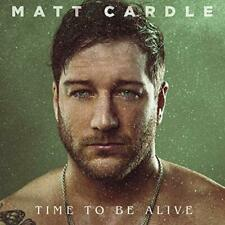 Matt Cardle - Time To Be Alive (2018)  CD  NEW/SEALED  SPEEDYPOST