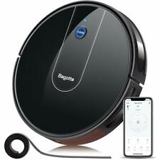 Bagotte Robot Vacuum Cleaner- 1600PA Wi-Fi Connected APP Schedule Cleaning