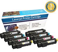 8-Pack S2825 Multi-Color Toner Set For Dell H625cdw H825cdw S2825cdn H625 H825
