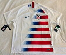 New $165 NIKE USA 2018/19 Authentic XL Vapor Match Home Jersey 893904-100/101 US