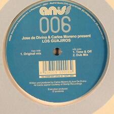 """Jose De Divina & Carlos Moreno - Los Guajiros 12"""" Mint- ANI 006 Vinyl 2004"""