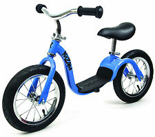 NEW KaZAM Running BalanceToddle Baby Push Bike Premium Model Air Tyre Blue
