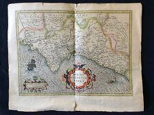 Regni Valentiae typus Gerhard MERCATOR 1512-1594 Spain Espagne Valencia Valence