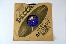 TERRY SHAND & Orchestra -I'VE BEEN WORKING ON THE RAILROAD CASEY DECCA 78rpm