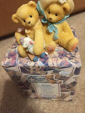 "1999 Cherished Teddies ""Chelsea and Daisy"" Reunion Event Figurine #597392"