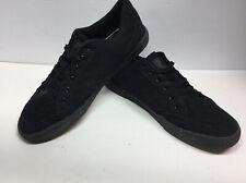 FILA Mens Classic Canvas Sneakers Black/Black Skateboarding Shoes size 13