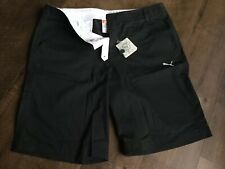 PUMA - Golf Performance Shorts - 38 - Black - Polyester Blend - $60
