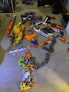 nerf lot Of 21 Dart Guns