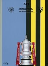 More details for manchester city v watford 18th may 2019 emirates fa cup final programme