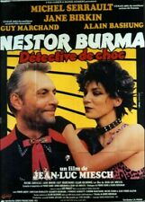 affiche du film NESTOR BURMA DETECTIVE DE CHOC 120x160 cm