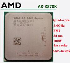 AMD A8-3870K 3GHz Quad-Core Socket FM1 100W AGP-Grafik CPU Processor