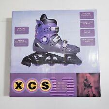 Xcs Inline Rollerblades Skate Boots Women Size 6 New with Box Free Shipping