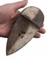 Masquette Maschera Passaporto Africano Aduma Gabon 16.5cm Feticcio Nuovo 16709