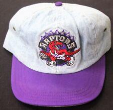 Vintage Toronto Raptors AJD NBA Jean 1994 Adjustable Strap 90's Hat ~ NOS RARE!!