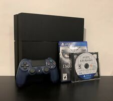 PlayStation 4 (PS4) 1TB Console | CUH-1115A | 2 Games + Midnight Blue Controller