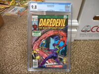 Daredevil 152 cgc 9.8 WHITE pages Marvel 1978 NM MINT Paladin 2nd appearance TV