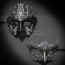 Couples Masquerade Mask, His & Hers Set, Masquerade Mask Couple M31003, M31131