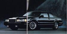 1991 LINCOLN Brochure / Catalog : CONTINENTAL / MARK 7 VII / TOWN CAR
