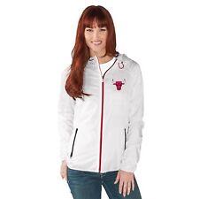 1fec8029204 NWT New NBA GIII Chicago Bulls Women s Spring Training Full Zip Jacket  Small S