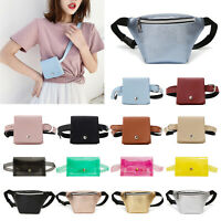Fashion Women Waist Fanny Pack PU Leather/PVC Shoulder Bag Girls Small Chest Bag