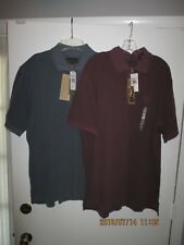 Men's Clothing Lot of 2 Timberland Casual T-Shirts w Collar Size XL New withTags