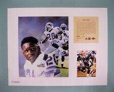 BARRY SANDERS Detroit Lions 1997 NFL Football 11x14 Lithograph Print (scare)