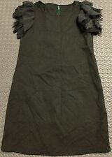 STILE BENETTON Black Dress Size L