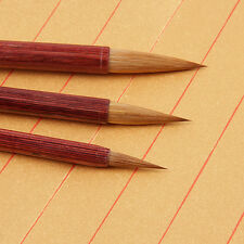 Chinese Calligraphy Writing brush Pen Painting Brush red wood wolf hair