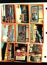 MCDONALDS PREMIERE EDITION 1996 CLASSIC MARKETING COMPLETE BASE CARD SET OF 50