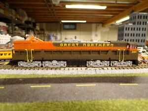 N Scale Great Northern U 50 the loco that never was