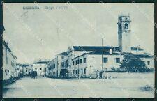 Padova Cittadella Borgo Padova PIEGHINA cartolina QT1692