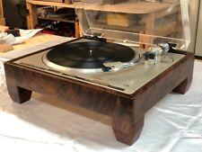 PioneerPL-560 Turntable - PL400, PL540, PL518,PL630SOLID Walnut WoodCabinet
