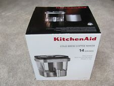 KitchenAid KCM4212SX Cold Brew Coffee Maker Brushed Stainless Steel 14 Servings