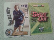 SHOOT OUT CARD 2003/04 (03/04) - Green Back - Leicester - Matt Elliot