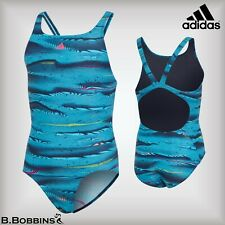 🏊SALE - Adidas LYCRA® XTRA LIFE™ Swimsuit Age 5-6 Years EURO 116 Girls Costume