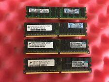 4 x GENUINE HP 2GB (8GB) 405476-051 432668-001 PC2-5300 Dimms Server Memory
