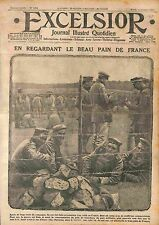 Camp Prisoners Feldgrauen Deutsches Heer Pain de France  WWI 1915