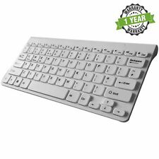 Clavier sans Fil Bluetooth Clavier pour Apple Tv Ipad Iphone Ipod Touch Blanc